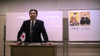 第3回黒田裕樹の歴史講座「源義経 ~悲劇のアイドル」の様子です(9/11...