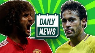 TRANSFER NEWS: Neymar to Manchester United, Fellaini to Liverpool + more ► Daily Football News