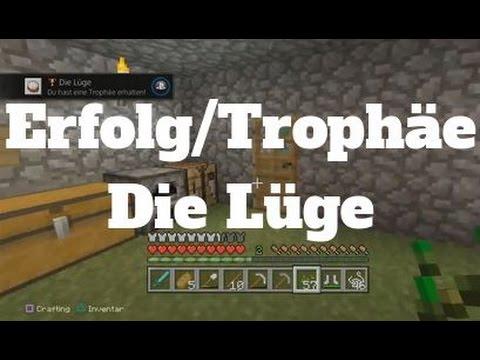 Minecraft Erfolg Trophae Die Luge Kuchen Backen German