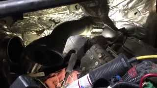 Installation of New Uppipes,Banjo Bolts and Intake Plenums