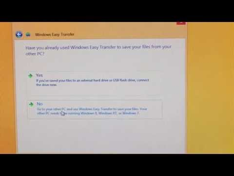 Windows 8.1 Not So Easy Windows Easy Transfer