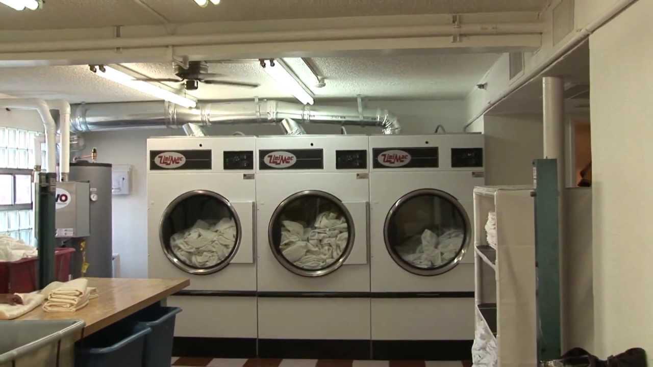 UniMac Commercial Laundry Equipment In Casino Royale Hotel Las Vegas