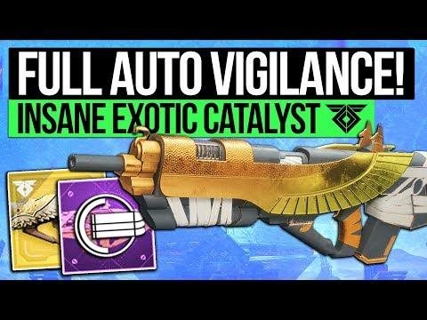 Destiny 2 | FULL AUTO VIGILANCE WING! Insane Exotic Catalyst & How to Unlock It! (Warmind DLC)