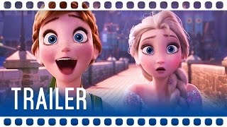 DIE EISKÖNIGIN/ FROZEN: PARTY-FIEBER Trailer Deutsch German 2015