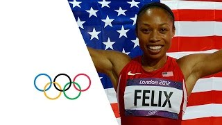 Allyson Felix Wins Women