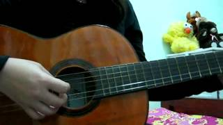 Trai' tim thổn thức - guitar.avi