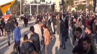 بالفيديو.. هكذا أصبحت ساحات مدينة حلب المهجورة