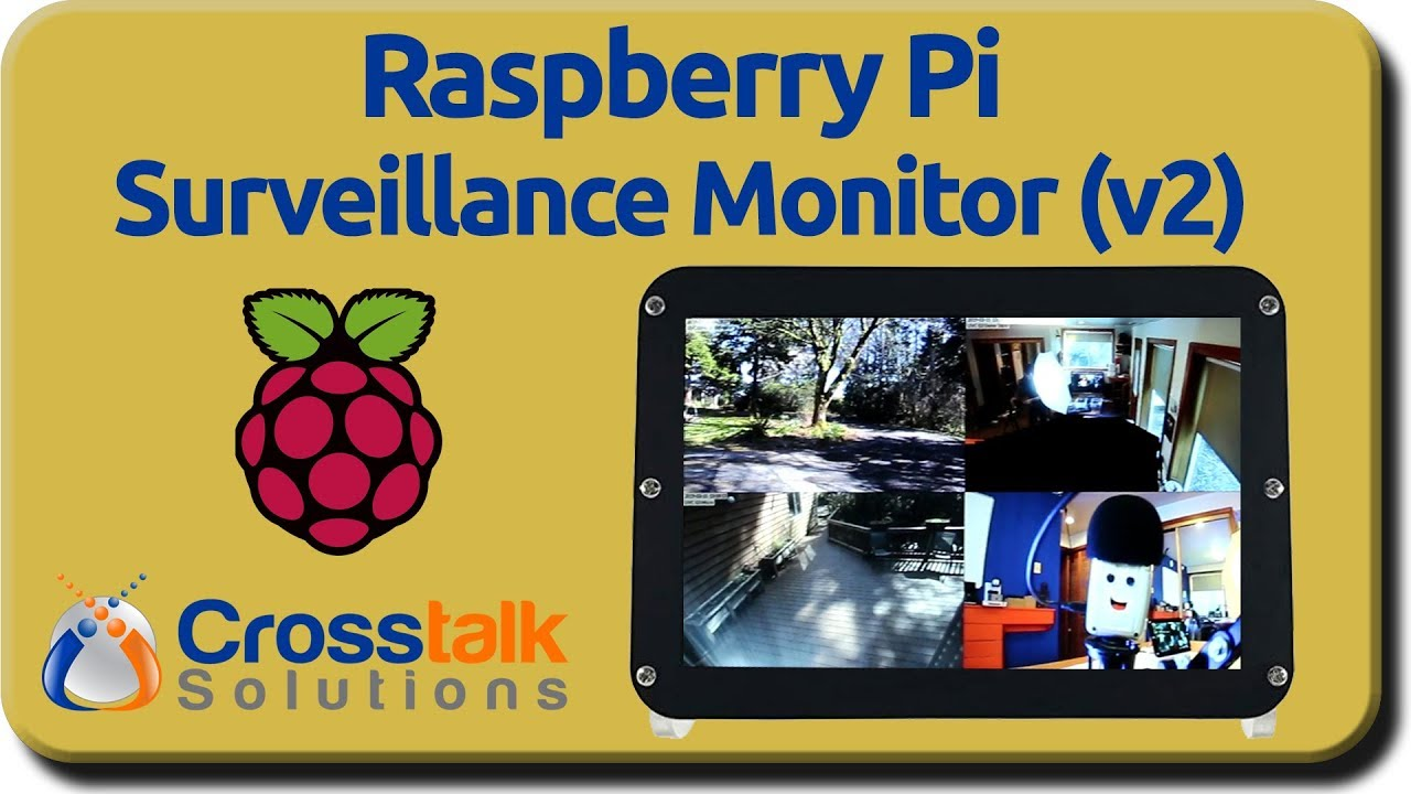 Raspberry Pi Surveillance Monitor v2