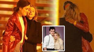Chloe Moretz share a sweet kiss with Kate Harrison months after Brooklyn Beckham split