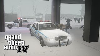 GTA IV Mods: Left 4 Liberty Infection v5.1 #23 (German) (HD) - Mhhh... ich liebe den Winter!