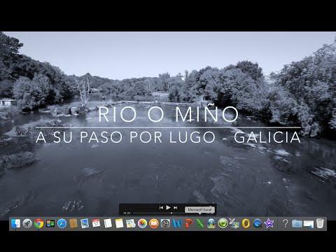 River Miño with  Drone (Galicia, Spain) / Rio Miño con Dron  (España) / DJI Phan