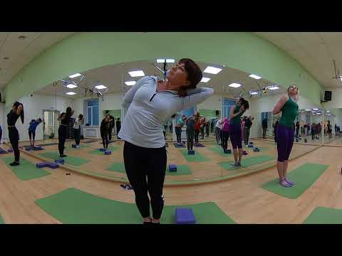 """Мастер-класс в фитнес-клубе """"ОЛИМПиЯ"""" [Панорамная съемка 360]"""