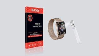 [FR] MASCHERI Film de protection d'écran liquide pour peau pour Apple Watch