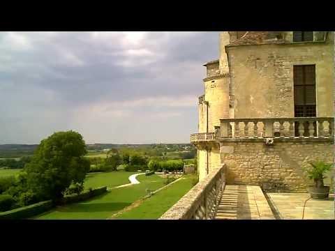 Chateau de Duras in Lot et Garonne,  France