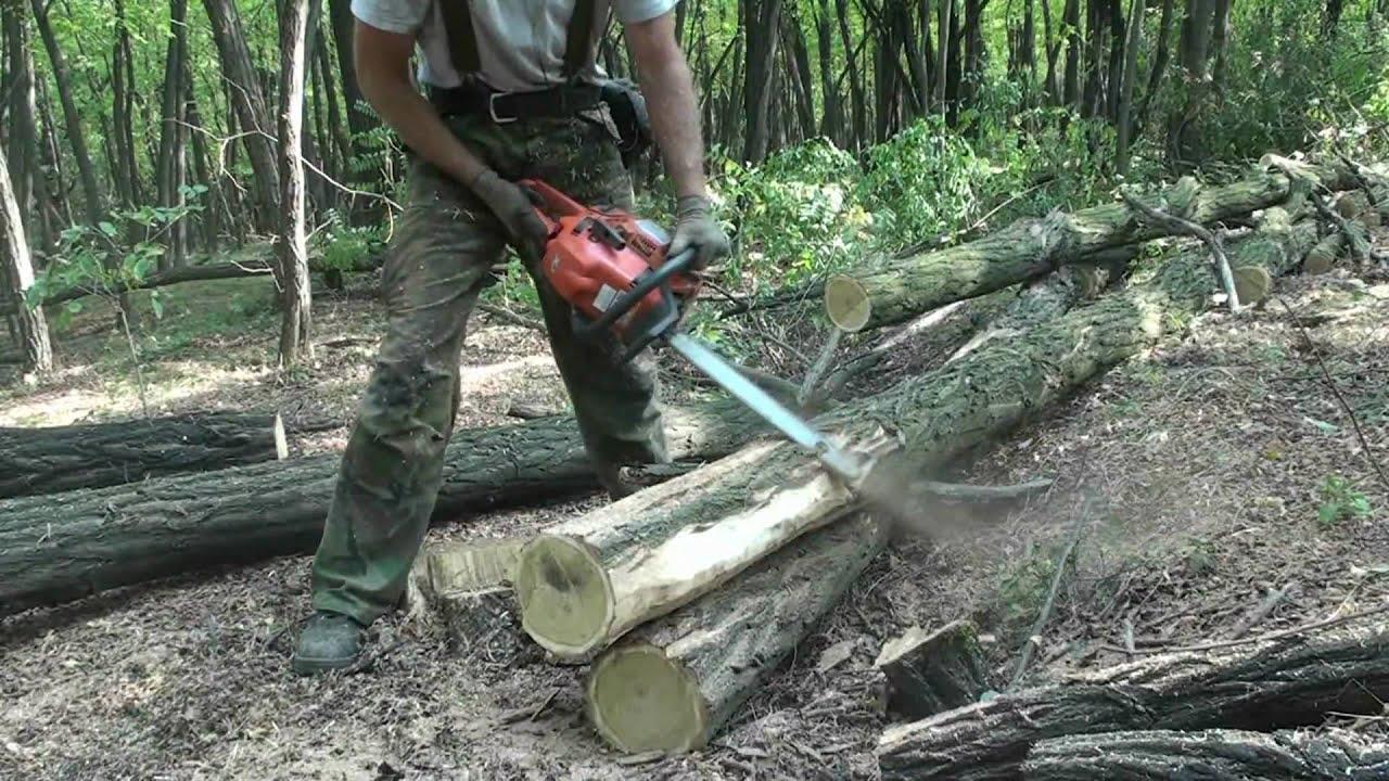 Debarking locust tree column with xp youtube