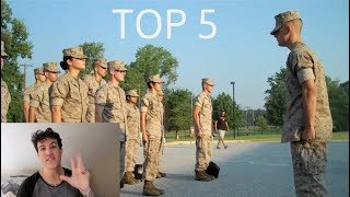 Video My Top 5 U.S. Marine Cadences (must listen) download MP3, 3GP, MP4, WEBM, AVI, FLV Oktober 2018