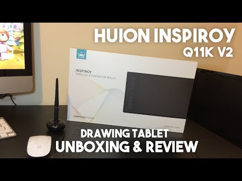Huion Inspiroy Q11K V2 Graphics Tablet Review & Unboxing