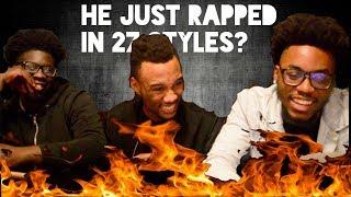 GUESS THE RAPPER? Mac Lethal Raps 27 Different Rap Styles - Reaction