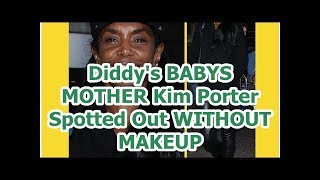 Diddy's BABYS MOTHER Kim Porter Spotted Out WITHOUT MAKEUP