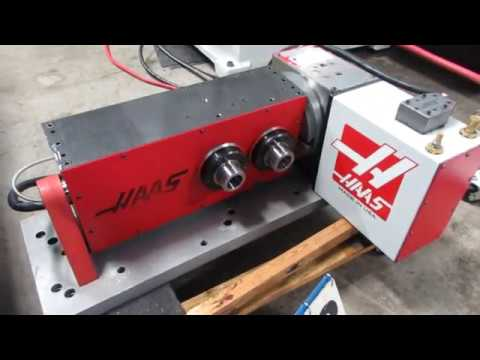 Haas TR Dual 5C Programmable Tilting 2-Axis Rotary Table (Brush Drive)