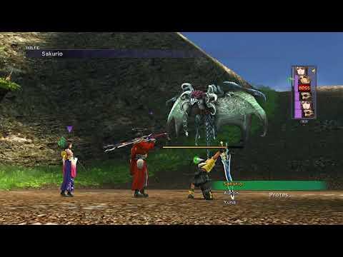 FINAL FANTASY X HD Fight against  Dark Aeon Valfaris |