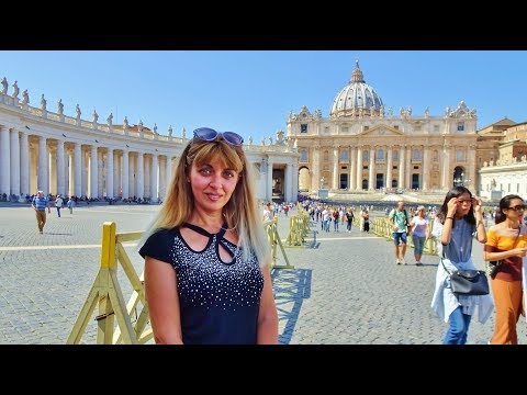 Rome Hop On Hop Off Bus Highlights, Italy, TRAVEL VLOG 2018