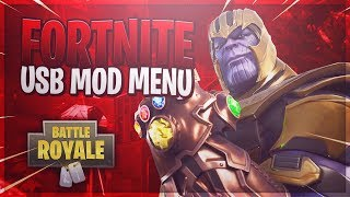 Fortnite Battle Royale - USB Mod Menu *WORKING 2018* (Ps4, Xbox One, PC)