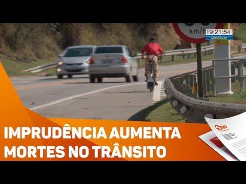 Imprudência aumenta mortes no trânsito - TV SOROCABA/SBT