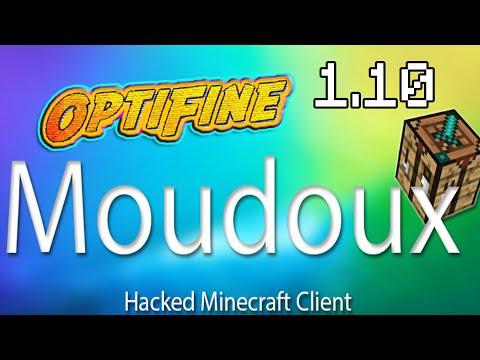 Minecraft - Moudoux Client 1.10.x (with OptiFine) Minecraft Hacked Client - WiZARD HAX