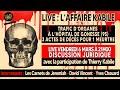 Live : Affaire Kabile DISCUSSION JURIDIQUE - MEURTRE - TRAFIC d'ORGANES- ACTES de DÉCÈS
