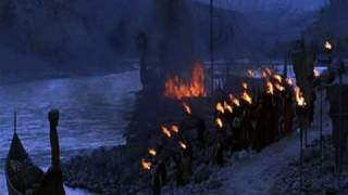 The 13th Warrior - Viking King Funeral
