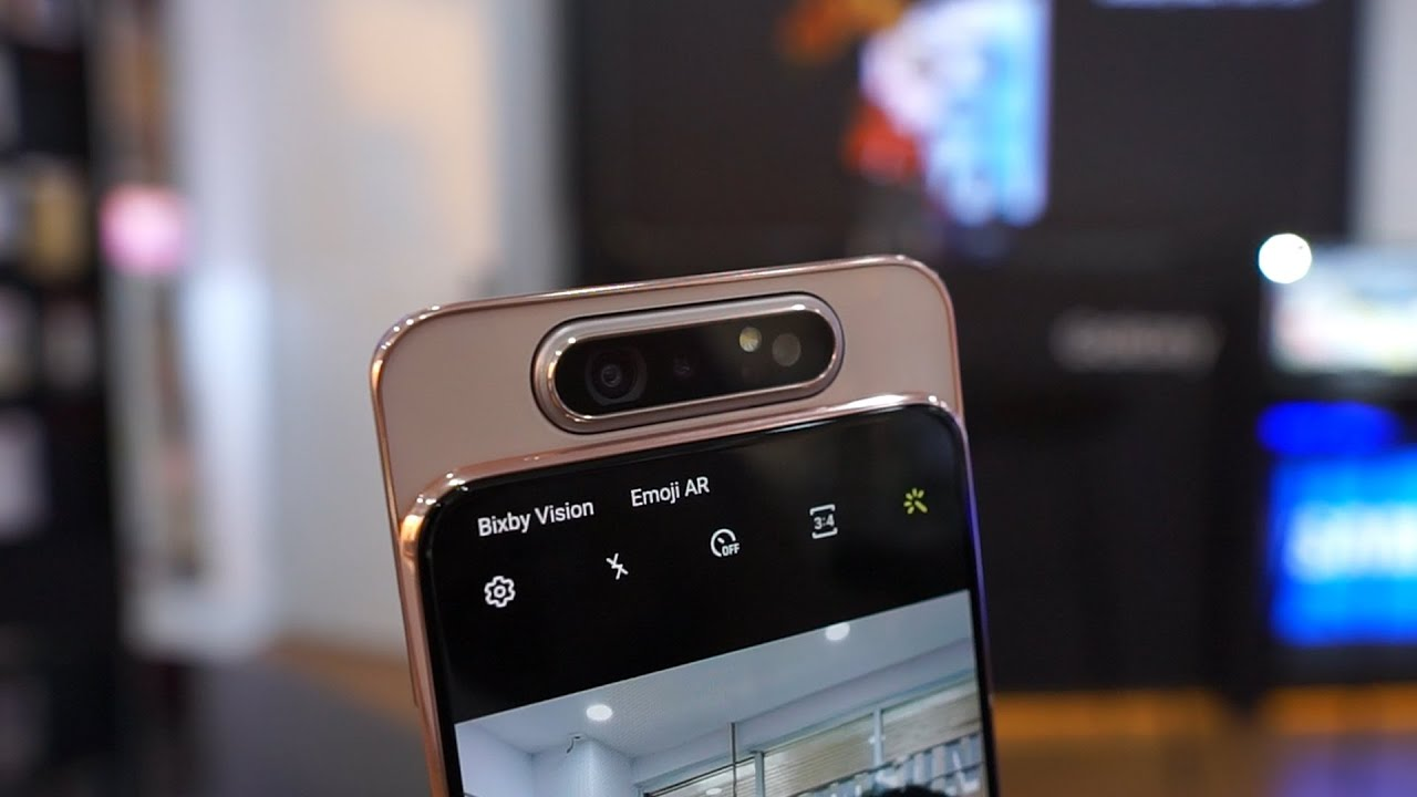 Unboxing Samsung Galaxy A80, PUBG & Camera Test!