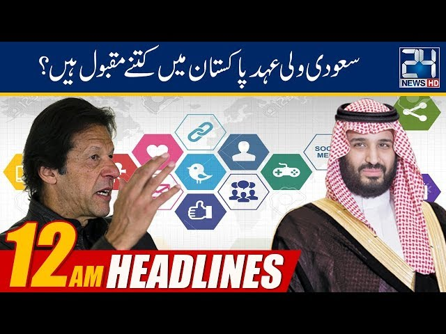 News Headlines | 12:00am | 19 Feb 2019 | 24 News HD
