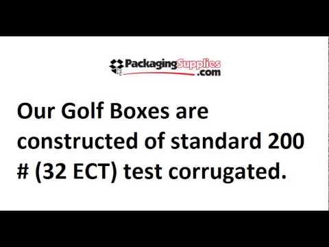 golf club shipping box securely ship golf club boxes - Golf Club Shipping Box