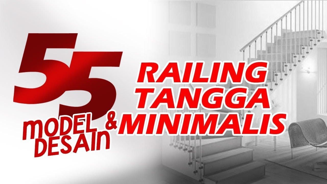 Kumpulan Model Railing Tangga Stainless Steel Minimalis Terbaru