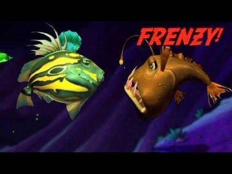 Let 39 s play feeding frenzy part 3 eddie the anglerfish for Feeding frenzy fish