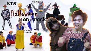 bts halloween dance practices on crack (3 in 1)