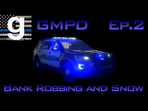 SNOW! | Garry's Mod Police Department | Ep 2