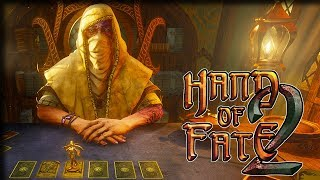 Action RPG Deck-Builder! – Hand of Fate 2 Gameplay  – Let