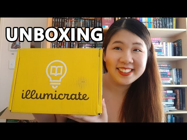 Illumicrate October 'With Great Power' Unboxing | 2019