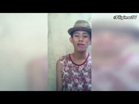 Boy sings like Bruno Mars (Versace on the floor)