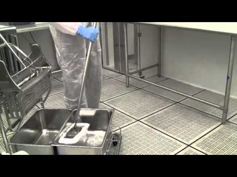 Cleanroom Cleaning - Floor Cleaning Procedure - Pegasus Building Services