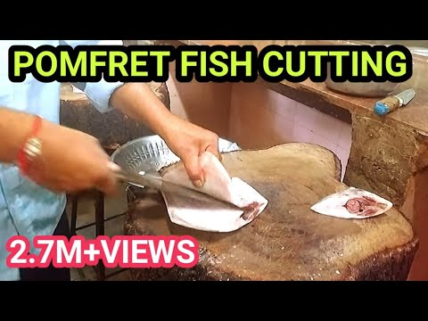 BEST TIPS &TRICKS TO CUT POMFRET FISH