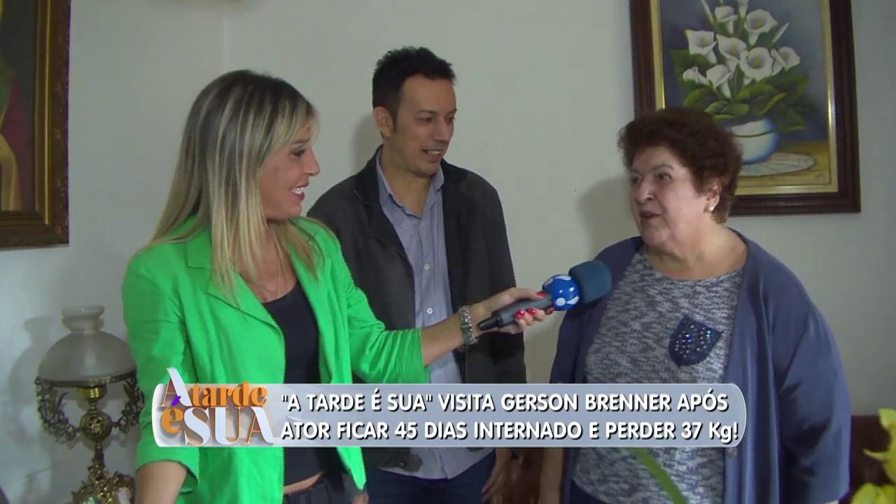 Gerson Brenner emagrece 37 kg; veja como está o ator