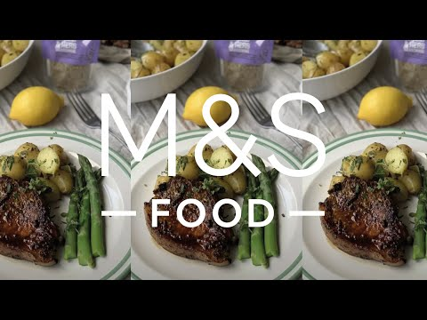 M&S Food | Cook with M&S...Pan-Fried Pork Chops