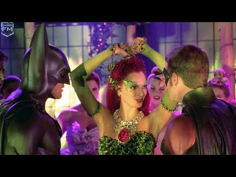 Poison Ivy dances at party | Batman & Robin
