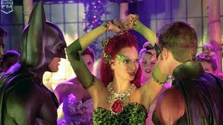poison ivy dances at party batman robin