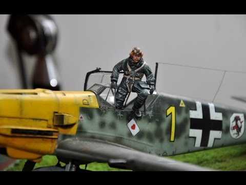 BF109-E3 The Pips Element Diorama Build 1/32
