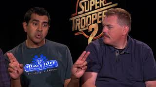 Super Troopers 2 Interview With The Cast thumbnail