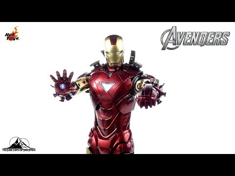 Optibotimus Reviews: Hot Toys Avengers Die-Cast IRON MAN MK VI (6)